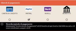 Casino stranieri che accettano Paypal